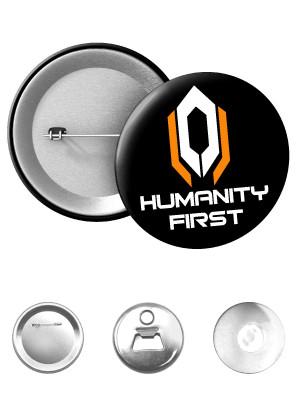 Odznak CERBERUS HUMANITY FIRST