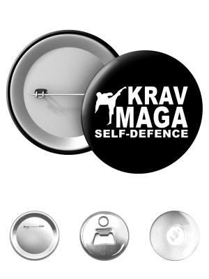 Odznak Krav Maga - self defence fighter
