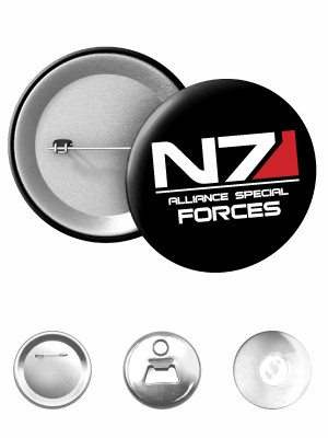 Odznak N7 Alliance Special Forces