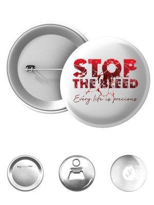 Odznak STOP THE BLEED