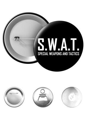 Odznak SWAT Special Weapons And Tactics