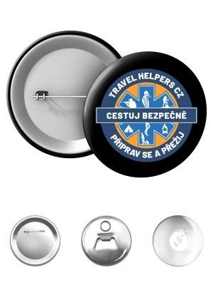 Odznak TRAVEL HELPERS - logo