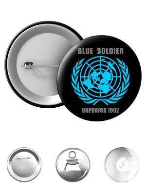 Odznak UNPROFOR - BLUE SOLDIER 1992