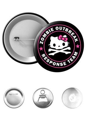 Odznak Zombie Outbreak Response Team Hello Zombie