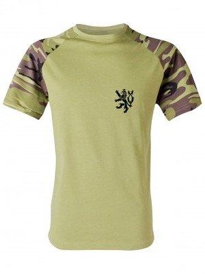 Pánské tričko Czech Armed Forces Lion Simple (vzor 95)