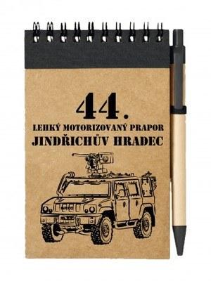 Poznámkový blok 44. lehký motorizovaný prapor IVECO