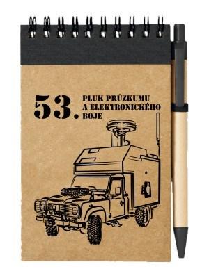 Poznámkový blok 53. pluk průzkumu a elektronického boje - DEFENDER