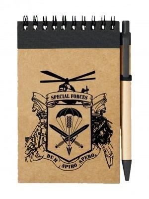 Poznámkový blok 601. skupiny speciálních sil