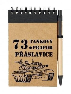 Poznámkový blok 73. tankový prapor - T-72M4 CZ