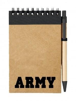 Poznámkový blok ARMY