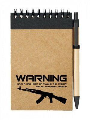 Poznámkový blok BAD HABIT AK-47