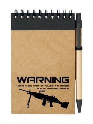Poznámkový blok BAD HABIT M249