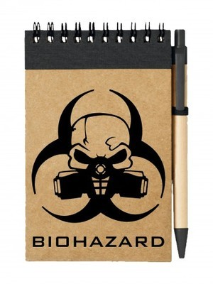 Poznámkový blok Biohazard