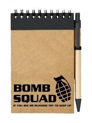 Poznámkový blok BOMB SQUAD