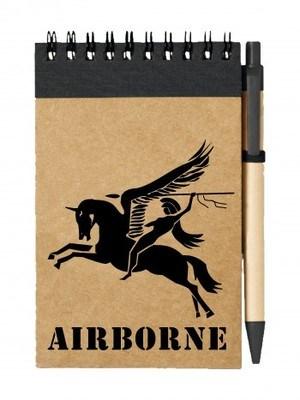 Poznámkový blok British Airborne Pegasus