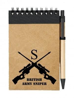 Poznámkový blok BRITISH ARMY SNIPER