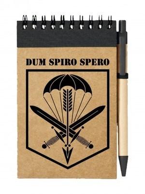 Poznámkový blok CAF 601. SKSS Dum Spiro Spero simple