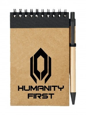 Poznámkový blok CERBERUS HUMANITY FIRST
