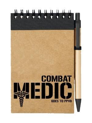 Poznámkový blok Combat Medic - GOES TO PPVB