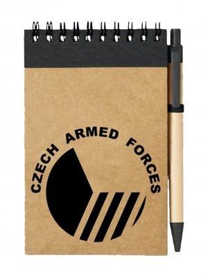 Poznámkový blok Czech Armed Forces
