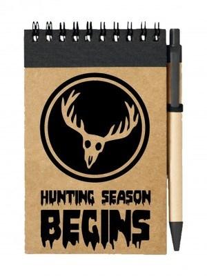 Poznámkový blok DEER Hunting Season Begins