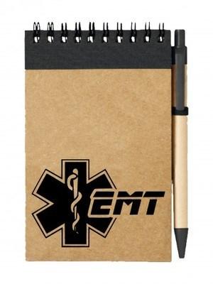 Poznámkový blok EMT Emergency Medical Technician