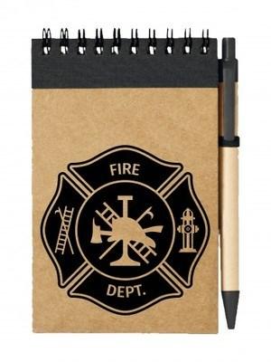 Poznámkový blok FIRE DEPT
