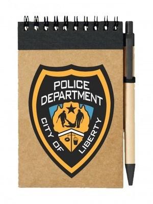 Poznámkový blok GTA Police Department City of Liberty