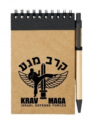 Poznámkový blok IDF Krav Maga