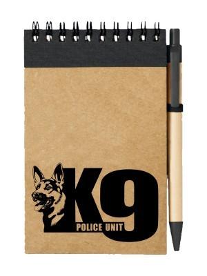 Poznámkový blok K9 Police Unit