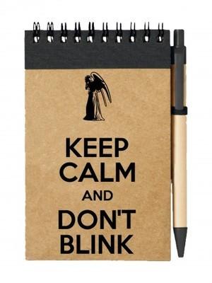 Poznámkový blok KEEP CALM AND DON'T BLINK