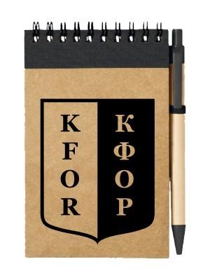 Poznámkový blok KFOR
