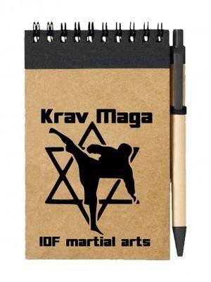 Poznámkový blok Krav Maga IDF martial arts
