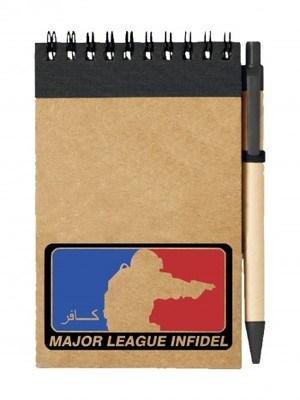 Poznámkový blok Major League Pistol