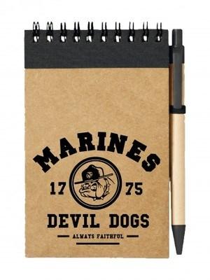 Poznámkový blok Marines Devil Dogs