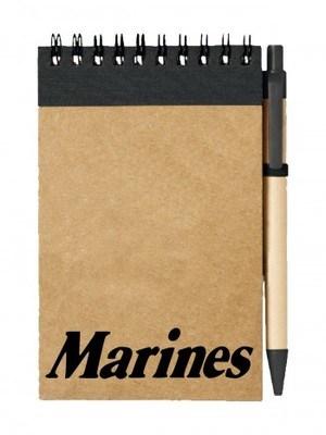 Poznámkový blok Marines