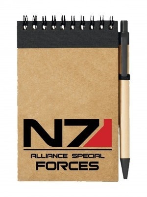 Poznámkový blok N7 Alliance Special Forces