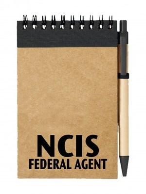 Poznámkový blok NCIS Federal agent