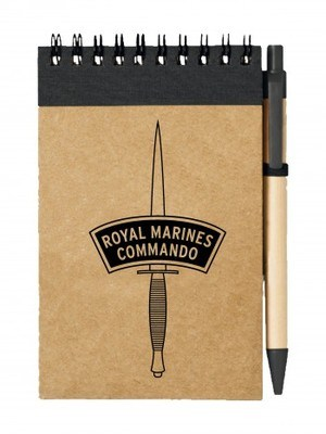 Poznámkový blok ROYAL MARINES COMMANDO dagger