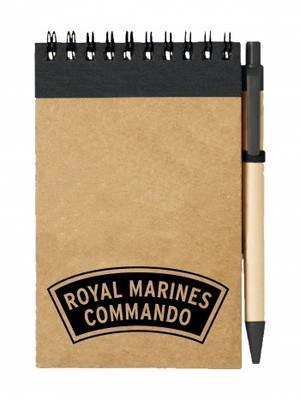 Poznámkový blok ROYAL MARINES COMMANDO