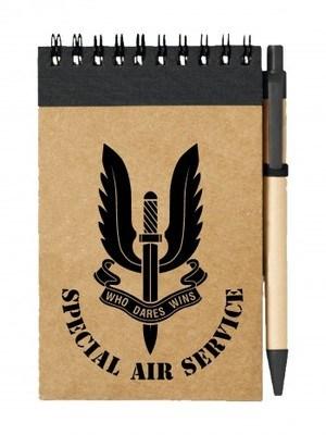Poznámkový blok SAS Special Air Service