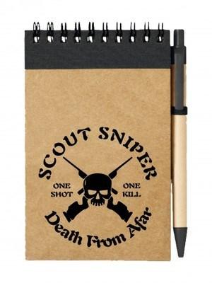 Poznámkový blok Scout Sniper