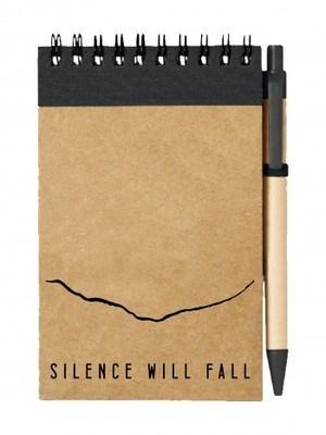 Poznámkový blok Silence Will Fall