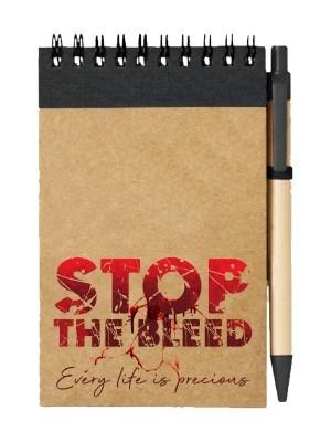 Poznámkový blok STOP THE BLEED