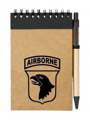 Poznámkový blok U.S. ARMY 101st Airborne Division
