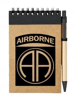 Poznámkový blok U.S. Army 82nd Airborne Division