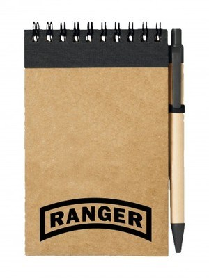 Poznámkový blok  U.S. Army RANGER