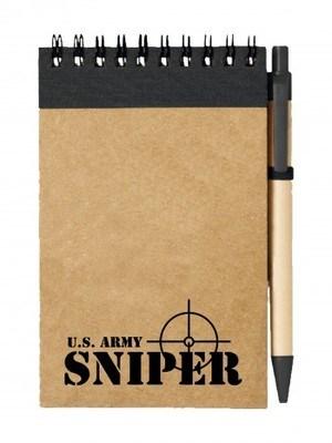 Poznámkový blok U.S. ARMY SNIPER