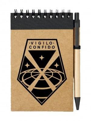 Poznámkový blok UFO Vigilo Confido