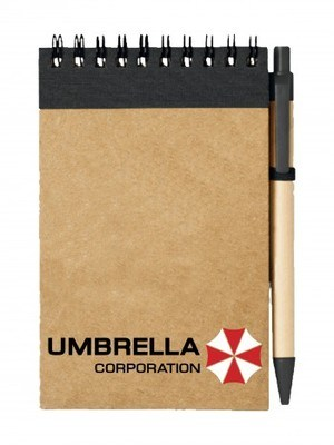 Poznámkový blok Umbrella Corporation Line